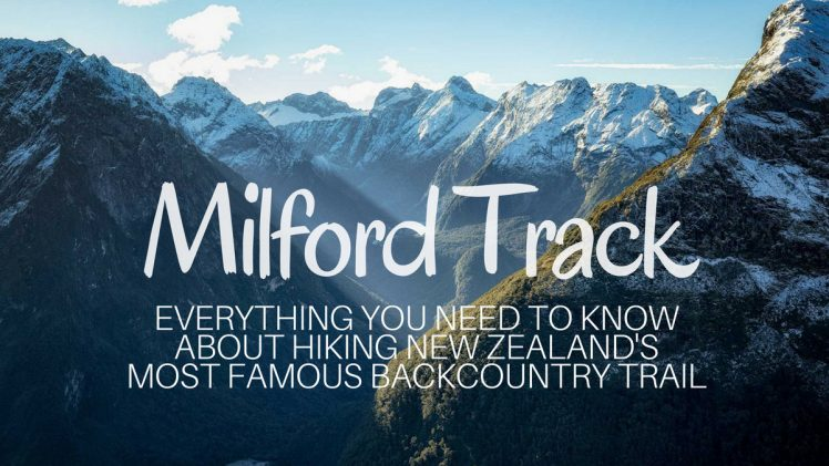 Things You Should Know Before Hiking The Milford Track, Nz
