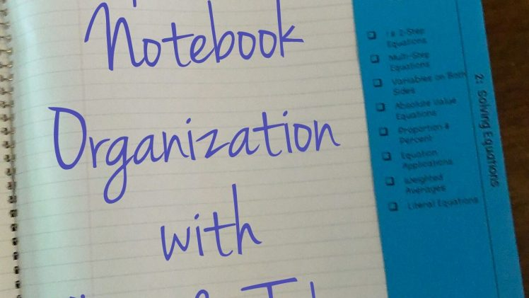 How To Organize A Notebooking Station