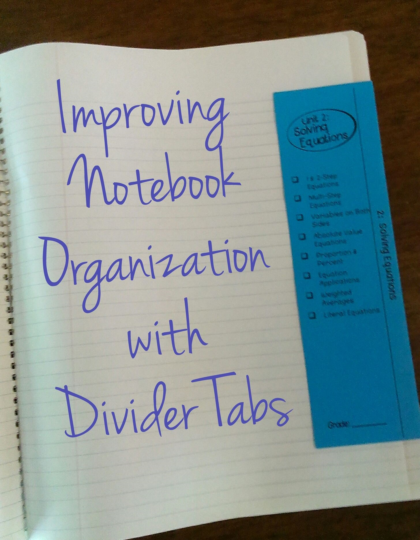Organize A Notebooking Station