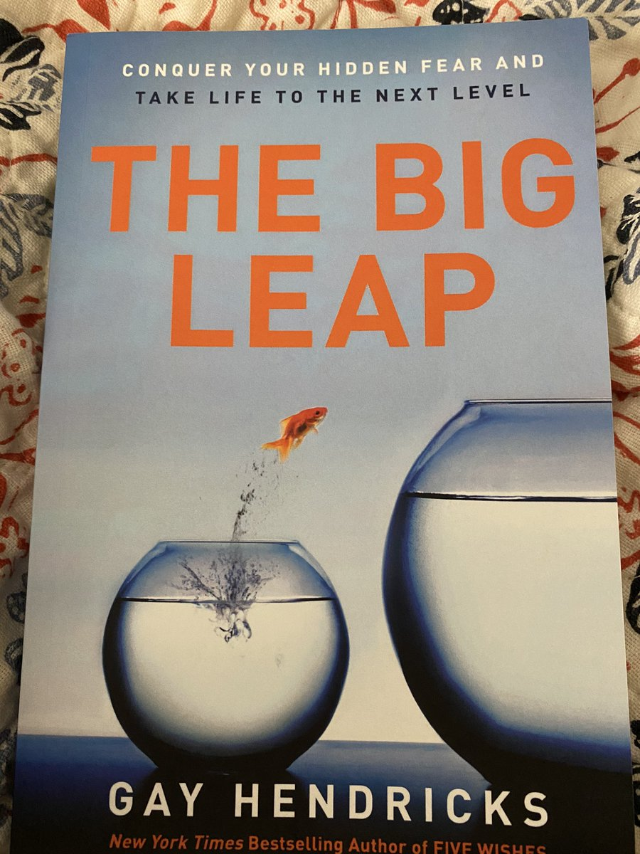 The Big Leap via way of means of Gay Hendricks